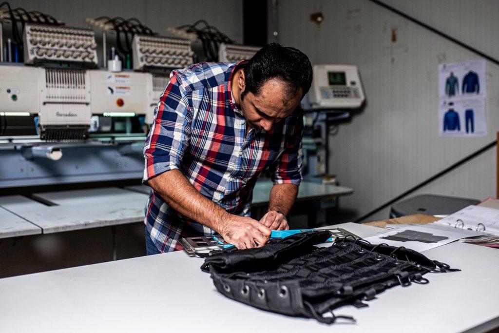 Borduren van gepersonaliseerde kleding en gadgets